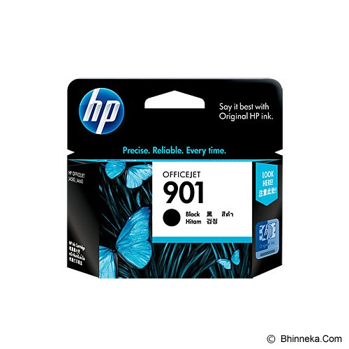 HP Black Ink Cartridge 901 [CC653AA] - Tinta Printer HP